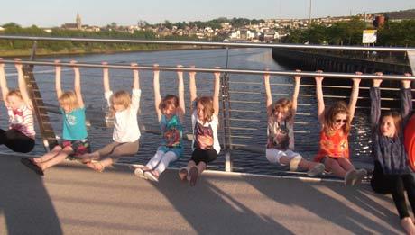 Friendship Bridge workout