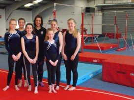 Youth class at Gwernaffield