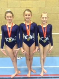 Megan Evans, Maddie Rees and Megan Reid
