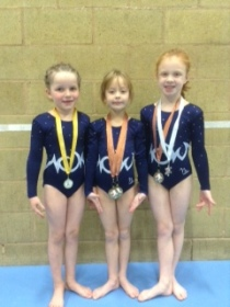 Lottie Bailey, Megan Phillips and Lydia Kingsley-Williams