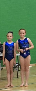 Intermediate competition gymnasts