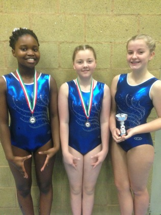 Puleng Moloi, Katie McKessy-Schofield and Maddy Morris