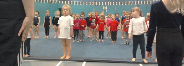 Pre-School gymnasts