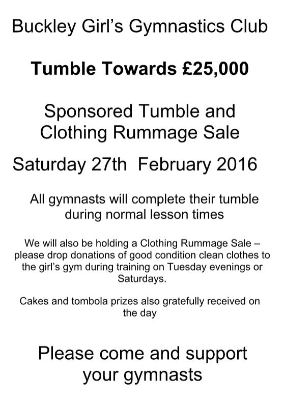 Sponsored Tumble poster