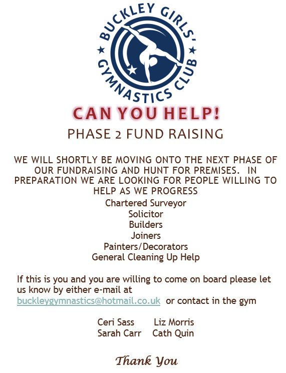 Can you help? poster with request for Chartered Surveyor, Solicitor, Builders, Joiners, Painters/Decorators, General Cleaning, Help