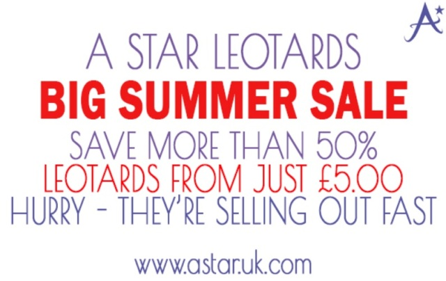 Poster: A Star Leotards sale