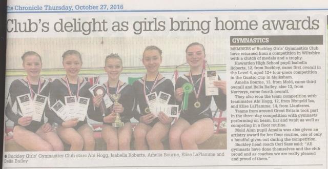 Flintshire Chronicle report