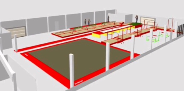 Plans for new gym interior