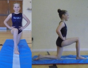 Getting into splits position, part 1&2