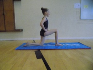 Getting into splits position, part 2