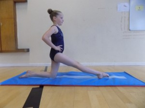 Getting into splits position, part 3
