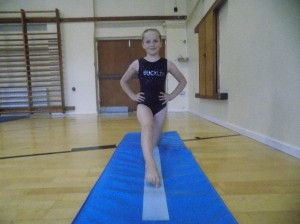Getting into splits position, part 4