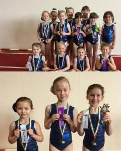 Development class gymnasts
