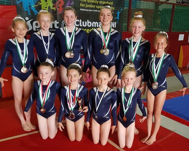 Advanced girls in Derry