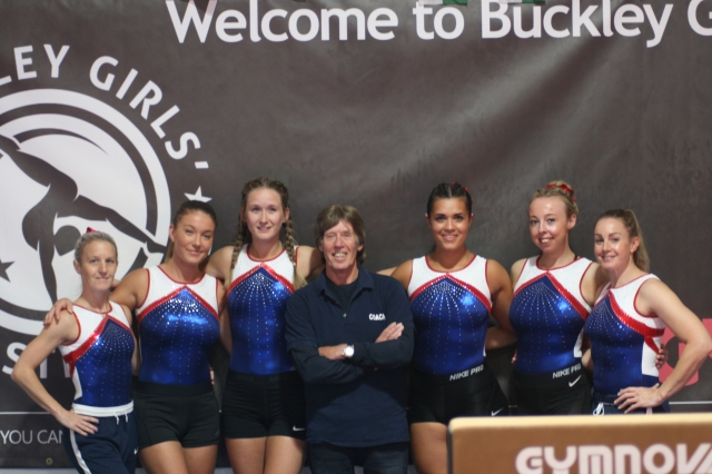 Coaches with coaching director Stan Buckley