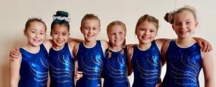 Girls competing on Sunday