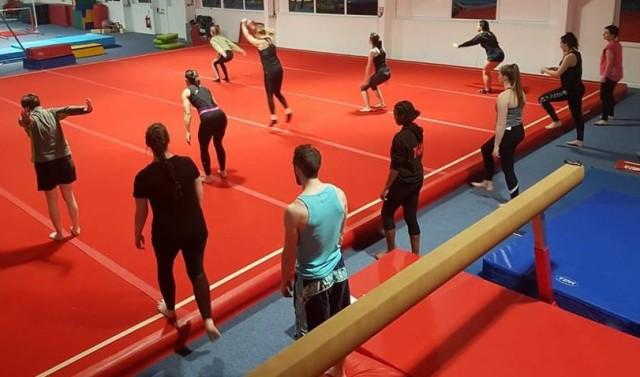 Buckley Adult Gymnastics class