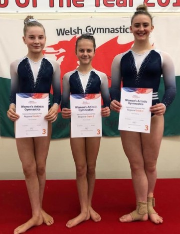 Sophie, Ellie and Niamh