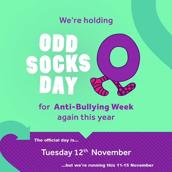 Odd Socks campaign poster